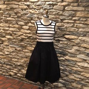 Kate Spade Knit Top Fit and Flare Dress